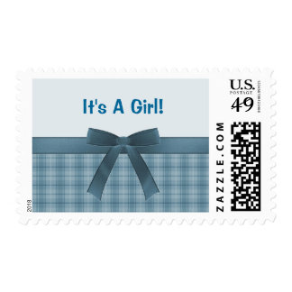 It's A Girl Postage