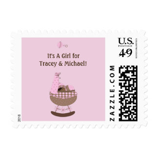 It's a girl Postage Stamp