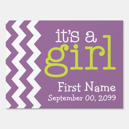 The gallery for --> Its A Girl Purple