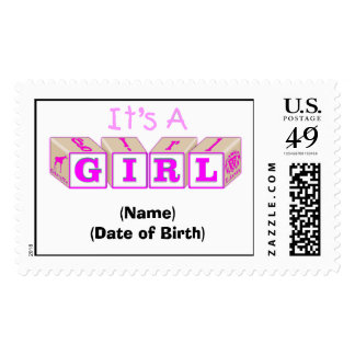 It's a Girl Stamp!