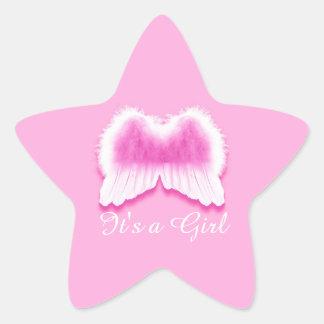 I'ts a Girl, Star Stickers, Glossy Star Sticker