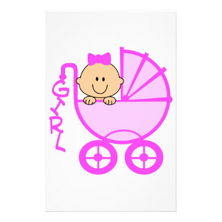 ITS A GIRL STATIONERY