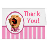 It's a Girl! Stationery Note Card