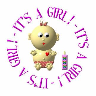It's a girl! statuette