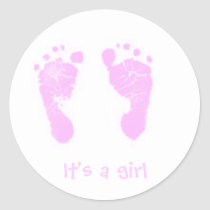 It's a girl! - sticker -