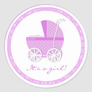 Its a Girl Stickers