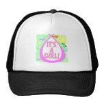 Its A Girl! (Stork) Trucker Hats