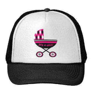 Its A Girl Stroller Trucker Hat