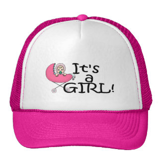 It's A Girl (Stroller) Trucker Hat