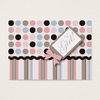 It's a Girl! Thank You Notecard Business Card