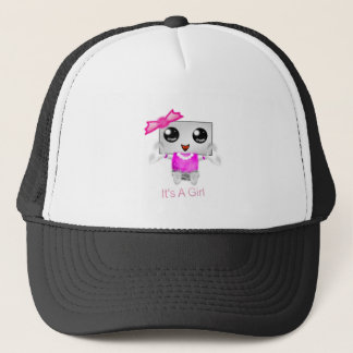It's A Girl Trucker Hat