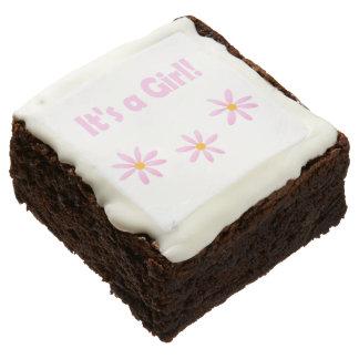 It's a Girl!  Welcome Katrina Chocolate Brownie