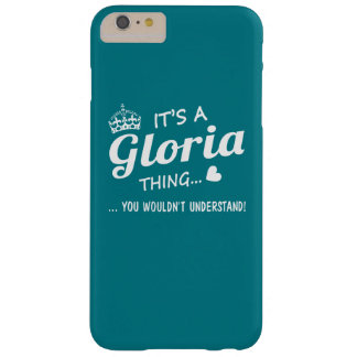 It's a GLORIA thing Barely There iPhone 6 Plus Case