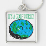 Its A Golf World Key Chains