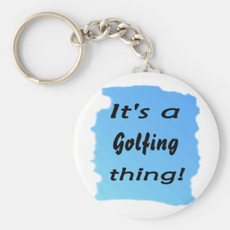 It's a golfing thing! keychains