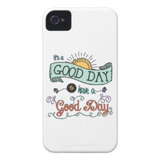 It's a Good Day iPhone 4 case by Jan Marvin
