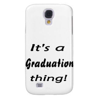It's a graduation thing! galaxy s4 cover