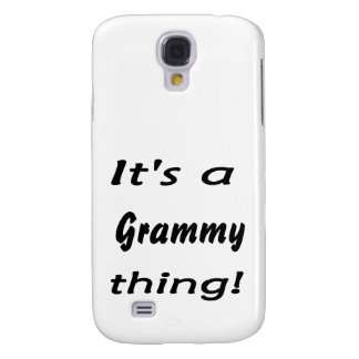 It's a grammy thing! samsung galaxy s4 cover