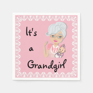 It's a Grandgirl Napkins