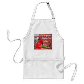 it's a great day to be alive adult apron
