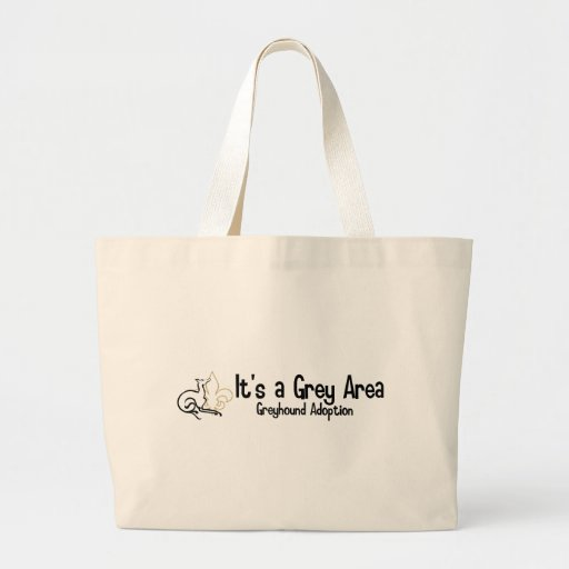 It's a Grey Area Logo - 2 Large Tote Bag