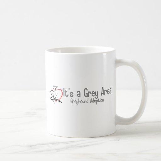 It's a Grey Area Logo - Wide Mugs