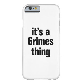 its a grimes thing barely there iPhone 6 case