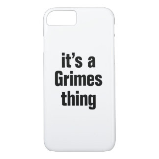 its a grimes thing iPhone 7 case