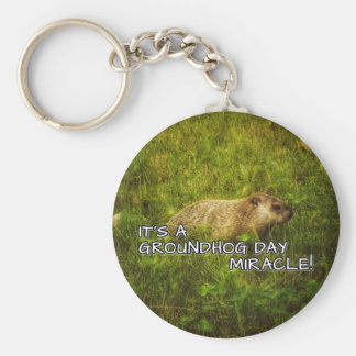 It's a groundhog day miracle keychain