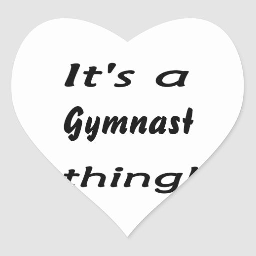 It's a gymnast thing! sticker