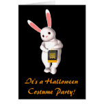"""""""It's a Halloween Costume Party!"""" Stationery Note Card"""