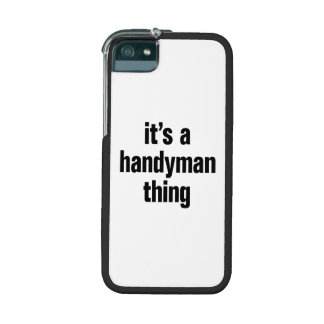 its a handyman thing cover for iPhone 5/5S