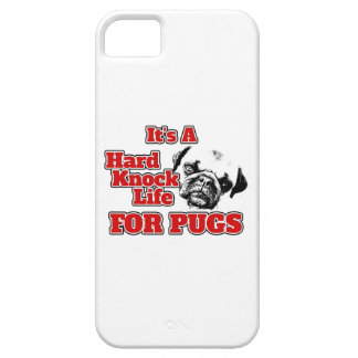 It's a Hard Knock Life for Pugs - Phone Case