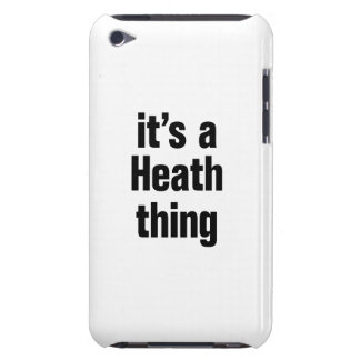 its a heath thing iPod touch Case-Mate case