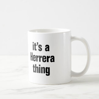 its a herrera thing. coffee mug