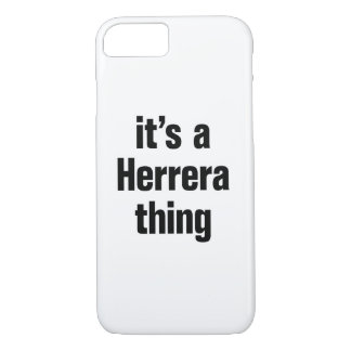 its a herrera thing iPhone 8/7 case