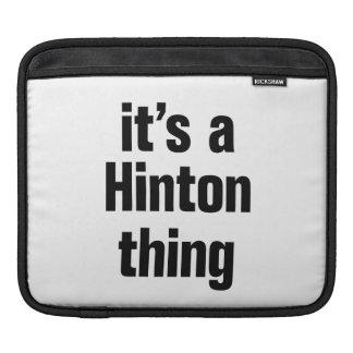 its a hinton thing iPad sleeves