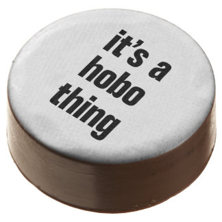 its a hobo thing chocolate covered oreo