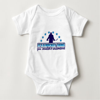 It's A Hockey Thing Baby Bodysuit