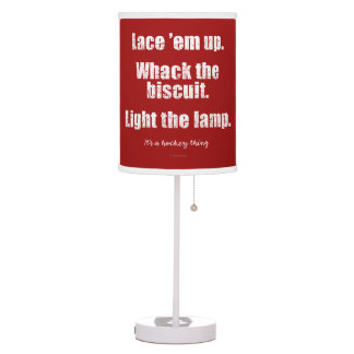 It's A Hockey Thing Table Lamp