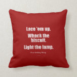 It's A Hockey Thing Throw Pillow