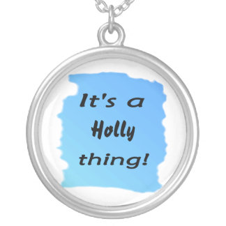 It's a holly thing! necklaces