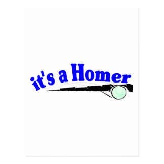 It's A Homer Postcard