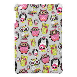 It's a hoot. Quirky Retro Owl pattern. Cover For The iPad Mini