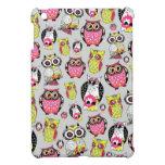 It's a hoot. Quirky Retro Owl pattern. iPad Mini Case