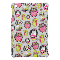 It's a hoot. Quirky Retro Owl pattern. iPad Mini Cover