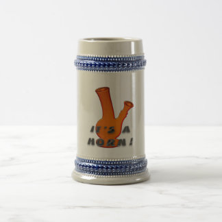 It's A Horn! Beer Stein