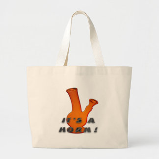 It's A Horn! Large Tote Bag