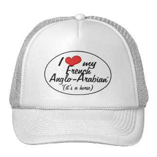 It's a Horse! I Love My French Anglo-Arabian Trucker Hats