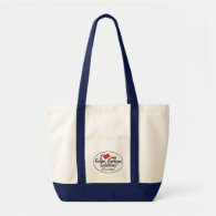 It's a Horse! I Love My Golden American Saddlebred Canvas Bags